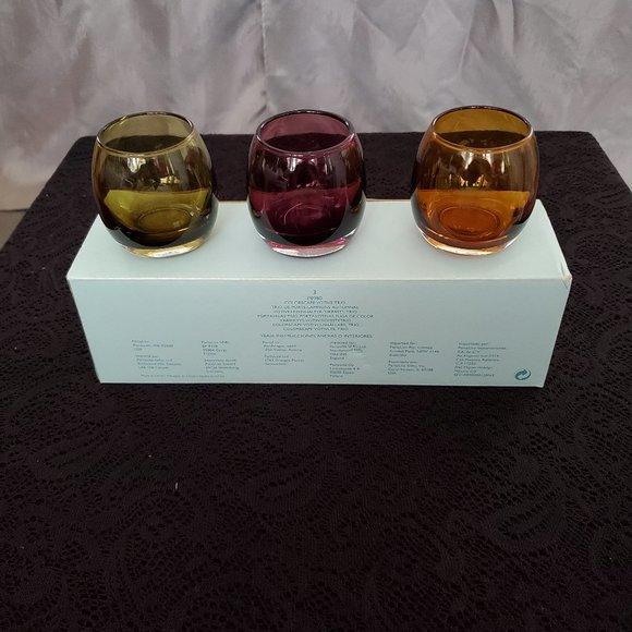 PartyLite Colorscape Votive Trio (Retired) P8980